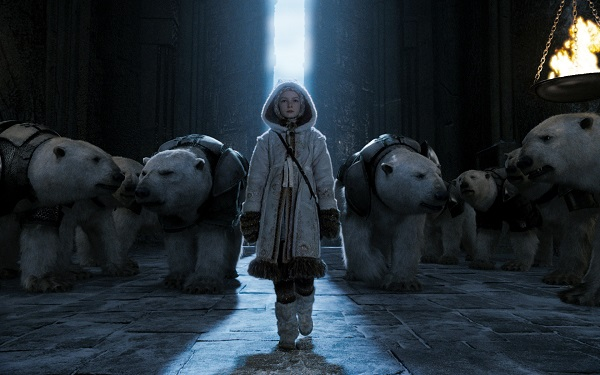 the golden compass lyra and polar bears
