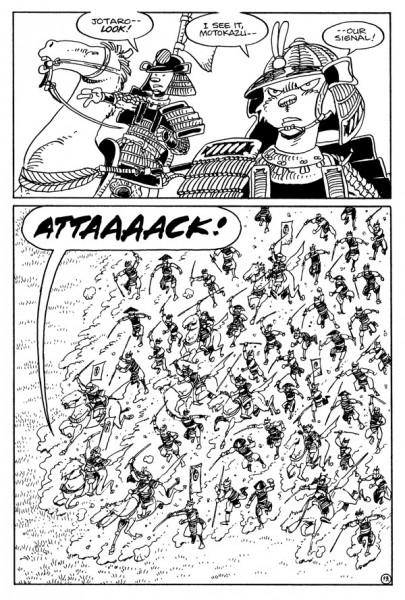 Usagi Yojimbo Senso #1 Page 1