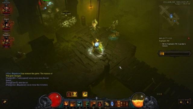 Diablo 3 cesspools