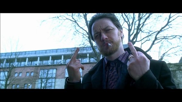 Filth - james mcavoy not giving a fuck