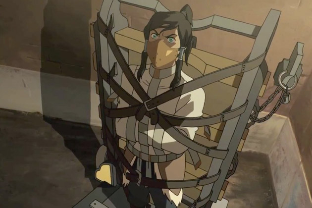 The Legend of Korra Stakeout