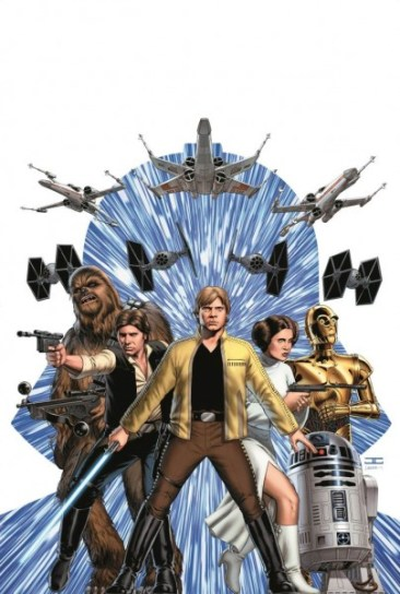 Marvel Star Wars comic book Cassaday cover