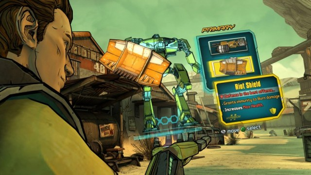 Tales from the borderlands gameplay screen 2