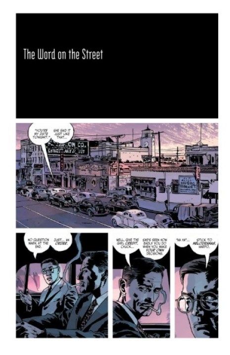 The Fade Out #4 Pg. 1
