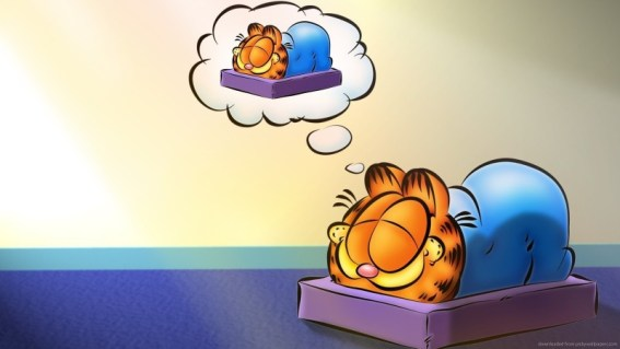 Garfield Dreaming