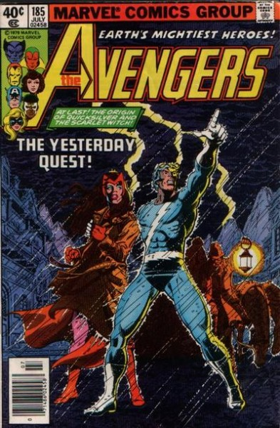 Avengers #185 - Scarlet Witch and Quicksilver