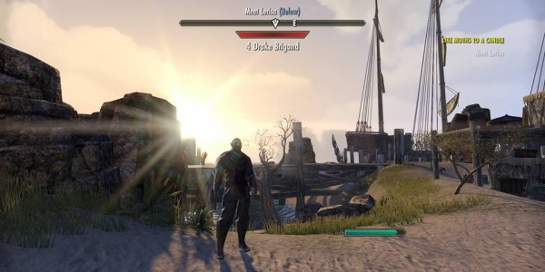 ESO orc sunset beta ps4