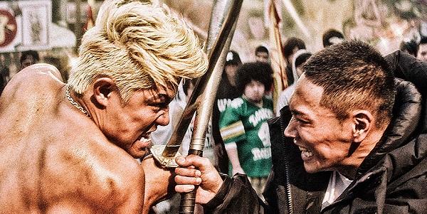 tokyo tribe - sword vs bat
