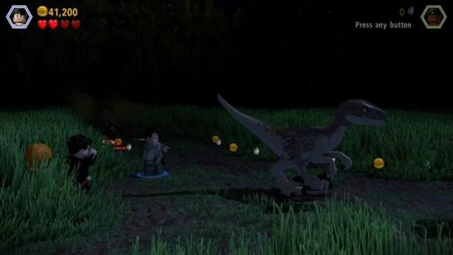Jurassic Lego raptor