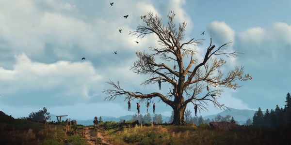 The Witcher 3 HanginG Tree