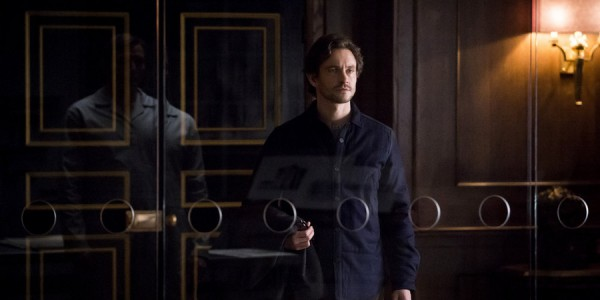 """HANNIBAL -- """"The Great Red Dragon"""" Episode 308 -- Pictured: Hugh Dancy as Will Graham -- (Photo by: Brooke Palmer/NBC)"""