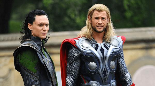 the avengers - thor and loki
