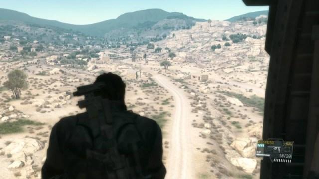 MGS V afghan far heli