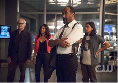 Martin Stein, Iris West, Cisco Ramon, Joe West - The Flash