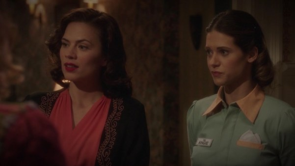 Dottie Underwood, Peggy Carter, Angie Martinelli - Agent Carter