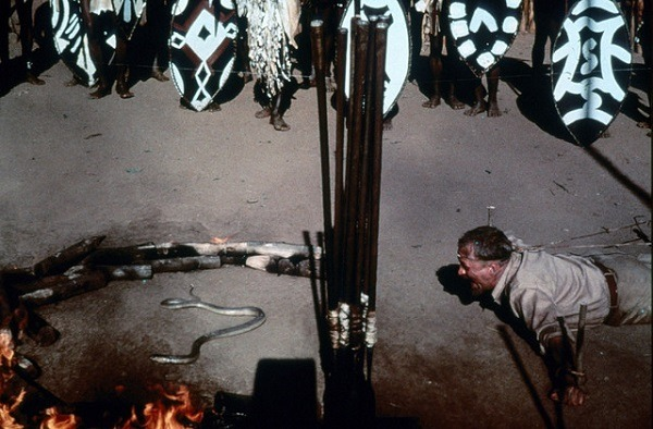 the naked prey - ritual killing