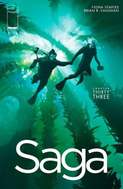 Saga #33 cover