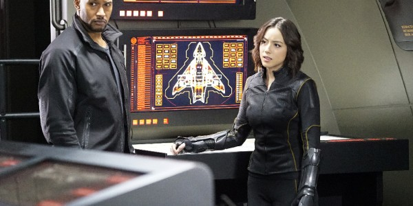 """MARVEL'S AGENTS OF S.H.I.E.L.D. - """"Parting Shot"""" - Bobbi and Hunter become ensnared in an assassination plot after tracking Malick to Russia. As S.H.I.E.L.D. races to save the lives on the line, the team is changed forever, on """"Marvel's Agents of S.H.I.E.L.D.,"""" TUESDAY, MARCH 22 (9:00-10:00 p.m. EDT) on the ABC Television Network. (ABC/Kelsey McNeal) HENRY SIMMONS, CHLOE BENNET"""