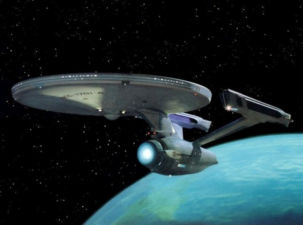 USS Enterprise - Star Trek