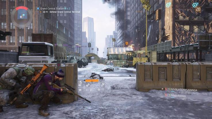 The Division cover sniper