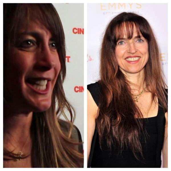 (R) Dana Nachman (L) Bettina Gilois