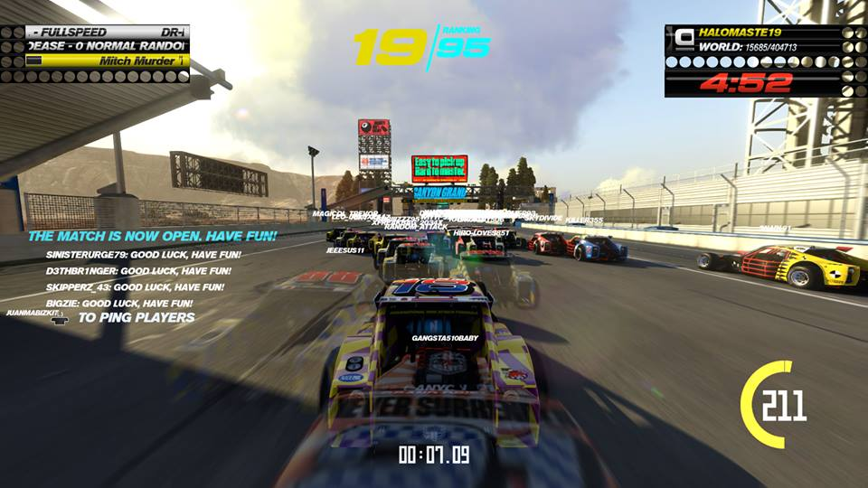 trackmania turbo 100 players