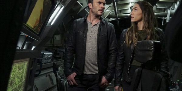 "MARVEL'S AGENTS OF S.H.I.E.L.D. - ""The Team"" - Agent Daisy Johnson must call upon the Secret Warriors for an inaugural mission that will leave no member unscathed, and S.H.I.E.L.D. learns more about Hive's powers, forcing them to question everyone they trust, on ""Marvel's Agents of S.H.I.E.L.D.,"" TUESDAY, APRIL 19 (9:00-10:00 p.m. EDT), on the ABC Television Network. (ABC/Eric McCandless) JUAN PABLO RABA, NATALIA CORDOVA-BUCKLEY"