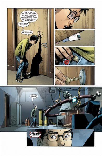 DC Universe: Rebirth #1 Image 2