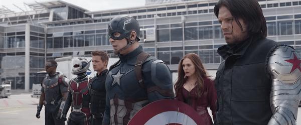 captain america - team cap