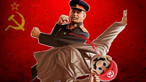 Stalin punches Mario