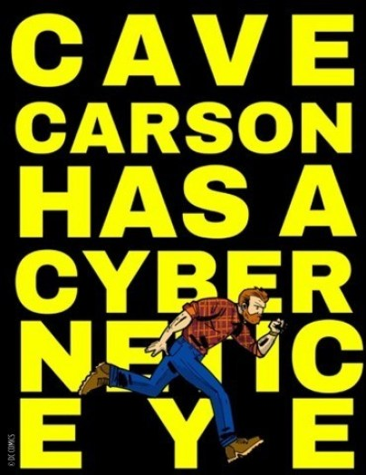 cave carson - Young Animal