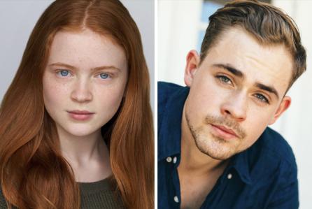 Sadie Sink and Dacre Montgomery Image courtesy of Netflix