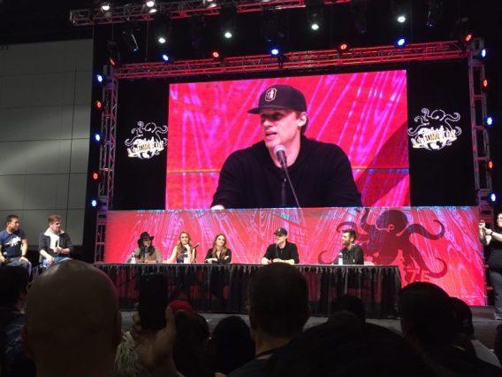 L.A. Comic Con - The Flash TV show panel pic 3