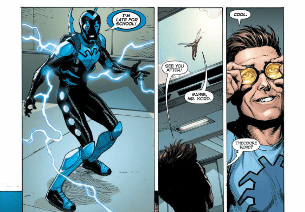 Jim's Pick Best Underog Jaime Reyes Blue Beetle