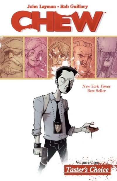 Chew - 10 Image Comics Should Be TV shows