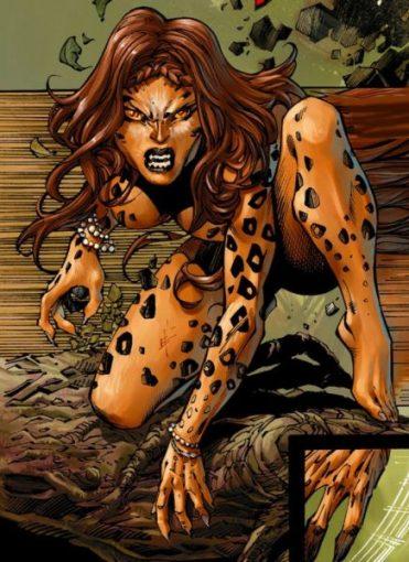cheetah - Top 10 Female Super Villains