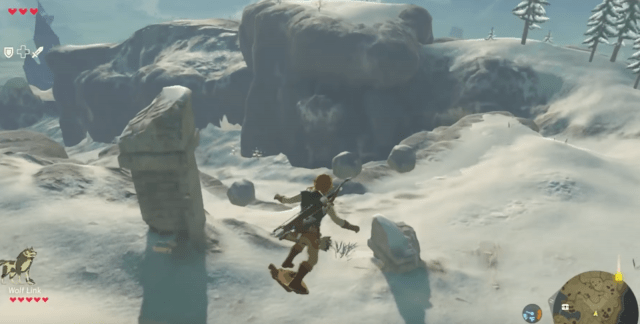 Image result for breath of the wild shield surfing