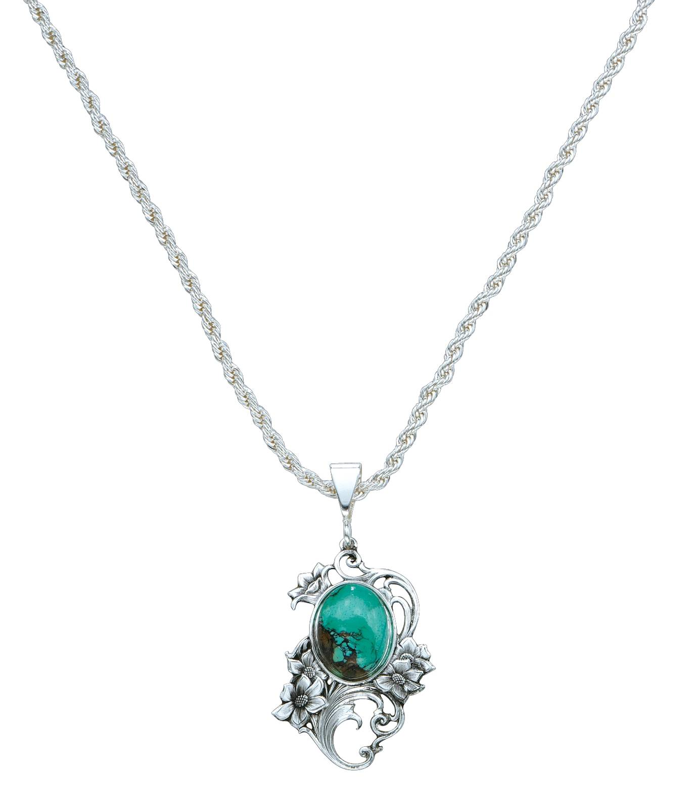 Montana Silversmiths Blue Earth Posie Necklace
