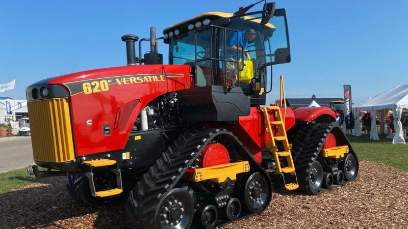 Versatile Tractor 620 DeltaTrack at Farm Progress Show 2021 in Decatur, IL