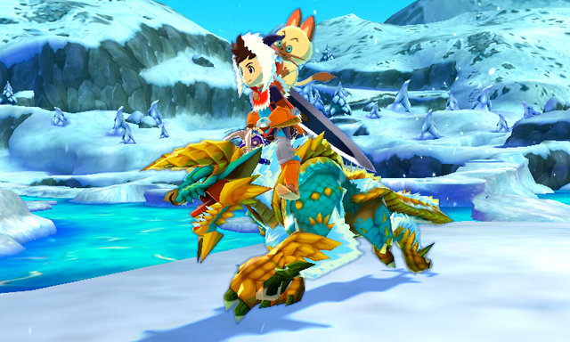 Fall Town Wallpaper Monster Hunter Stories Tokyo Game Show Preview Video