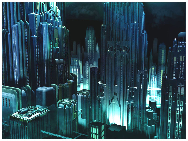 Concept Art Shows What The BioShock Movie Could Have Been
