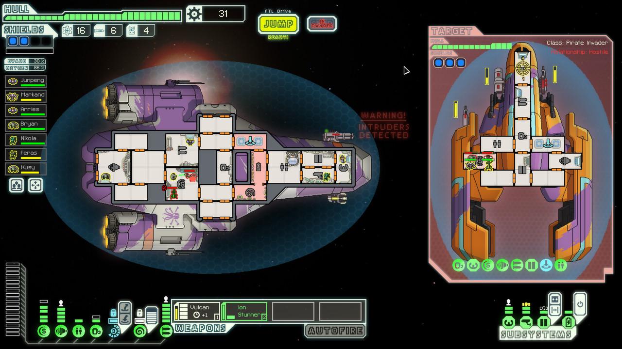 Ftl Faster Than Light Exploding Spaceships Zero