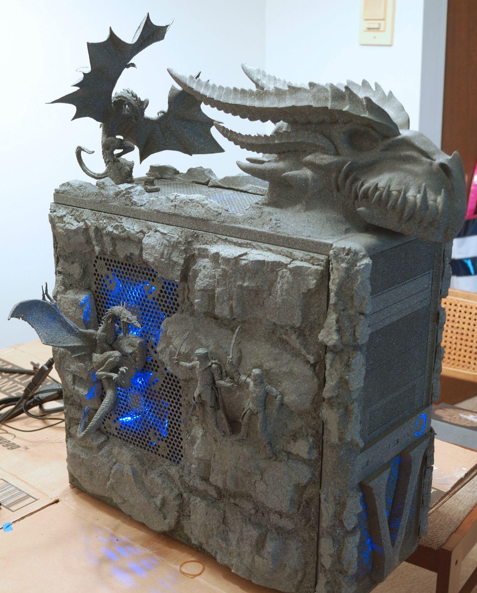 Skyrim Fan Builds Amazing Dovahkiin PC  The Escapist