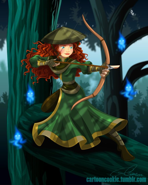 Disney Princesses Avatar Airbender Characters Escapist