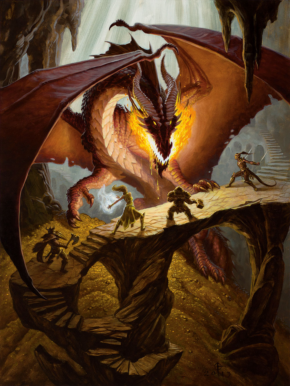 Dragons And Book Dungeons List