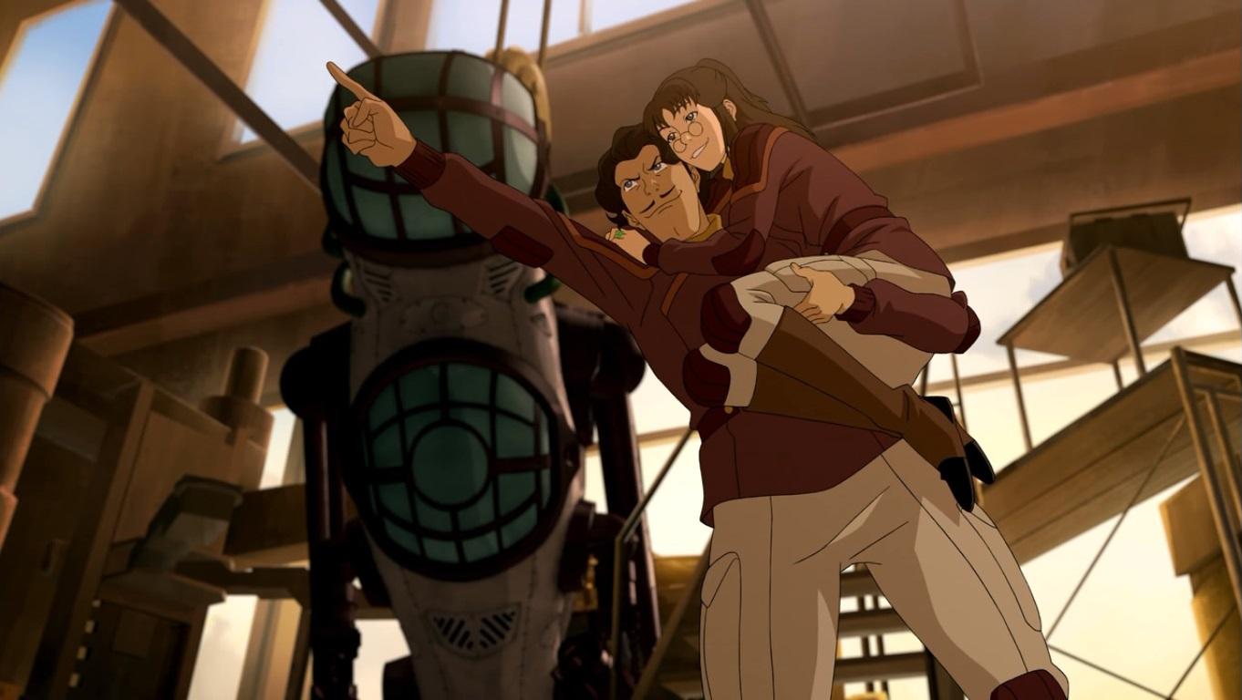 Om Animation Wallpaper Legend Of Korra Series Finale Review Reviews The Escapist