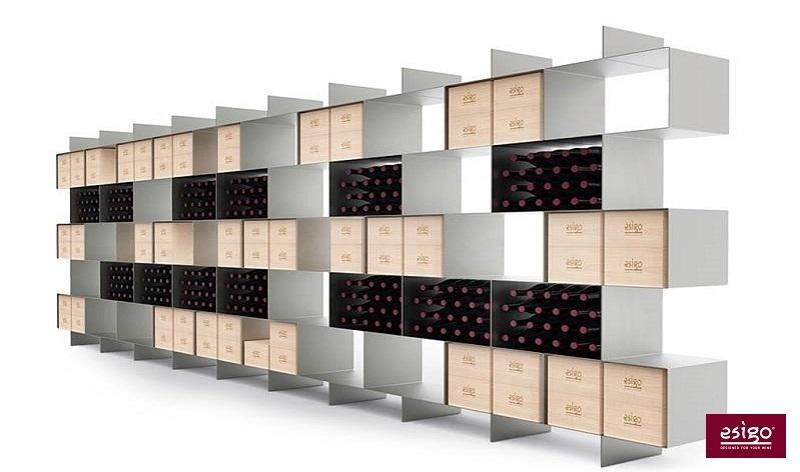 gallery esigo 2 box wine rack