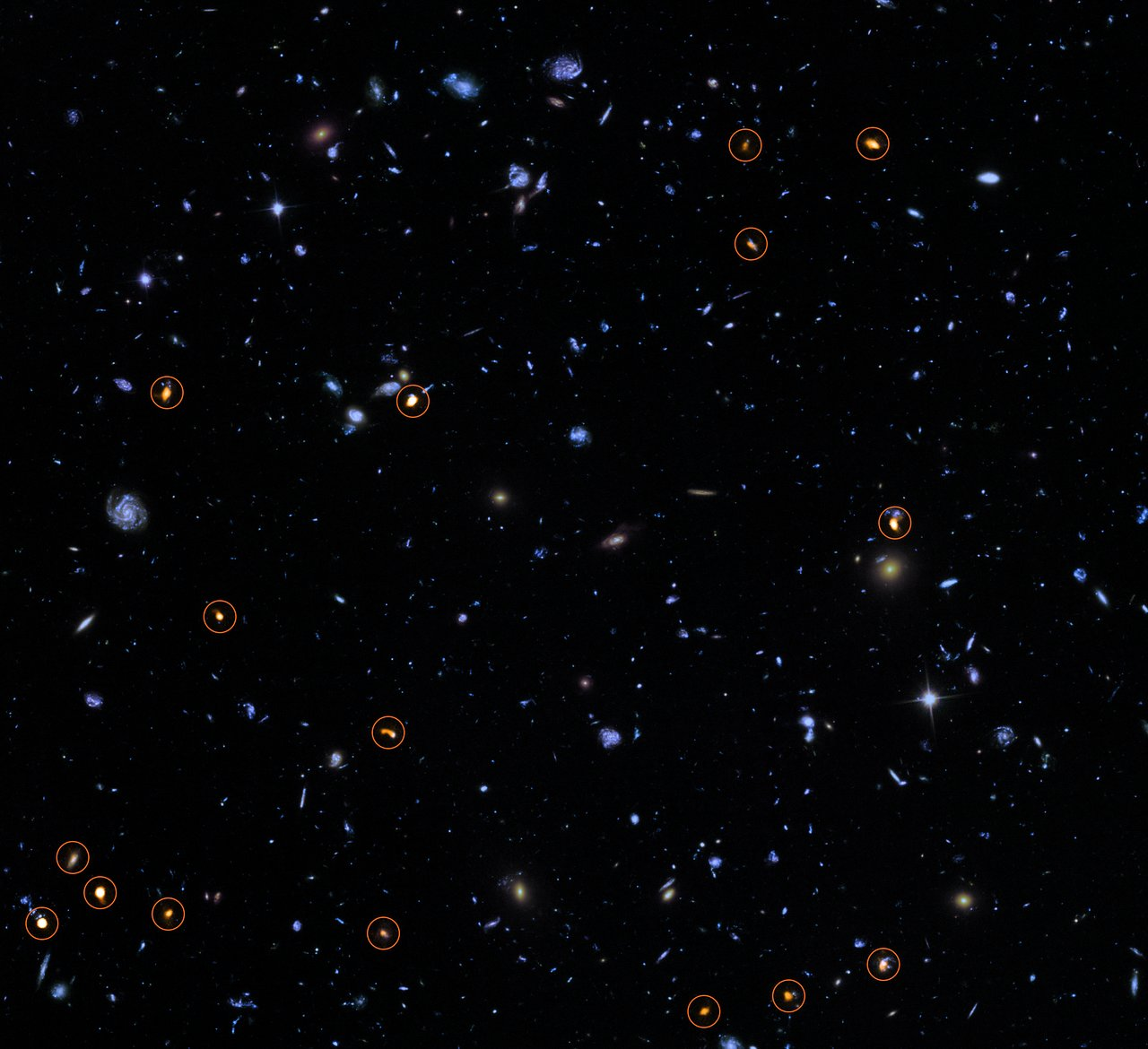 alma explores the hubble