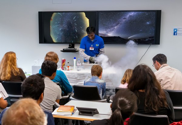 Open House Day 2015 Long Night Of Science Eso