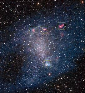 ALMA penetra en los corazones de las guarderías estelares